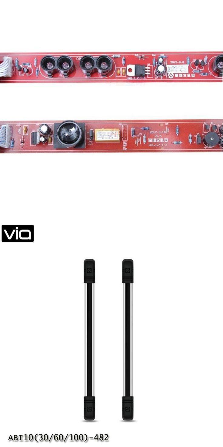 VIA ABI10(30/60/100)-482 Direct Factory Barrier Detector Infrared 2 Beams Detection Range Door Gate Window  Alarm Intrusion