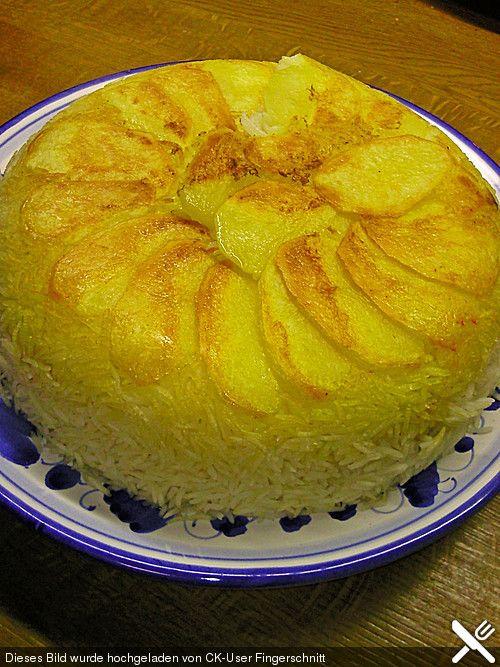 Persischer Reis - Tahdig, ein tolles Rezept aus der Kategorie Reis/Getreide. Bewertungen: 14. Durchschnitt: Ø 4,1.