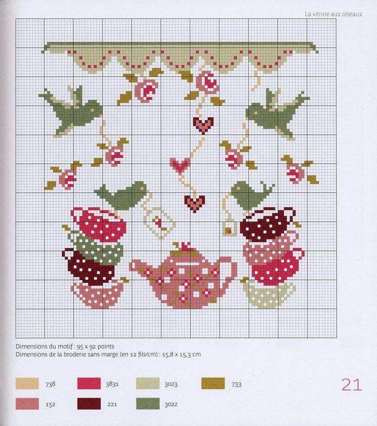 Cute cross stitch design