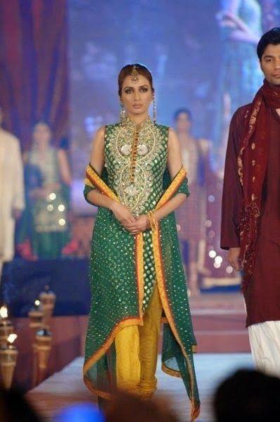 New wedding dresses 2015, Mehndi dresses fashion, Party wear clothing designs