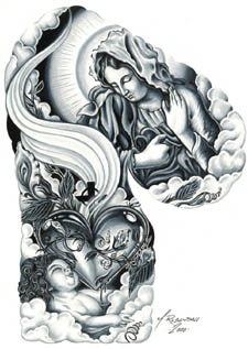 34 best images about tattoos on pinterest tattoos on women rosary tattoos and jesus. Black Bedroom Furniture Sets. Home Design Ideas