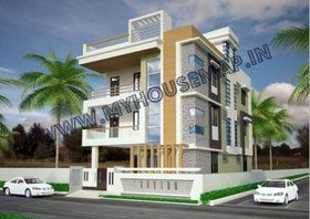 exterior | house map, elevation, exterior, house design, 3d house map in india