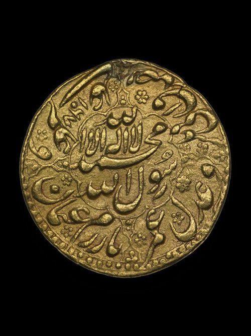 (Mughal Empire) Mughal Empire, India. Gold Coin.