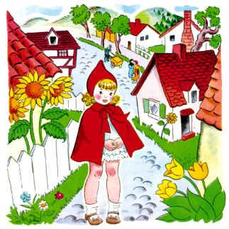 LRRH: Little Red, Book Worth, Book Illustrations, Red Riding Hoods, Red Ridinghood, Lettl Red, Children Book, Crafts, Fairies Tales