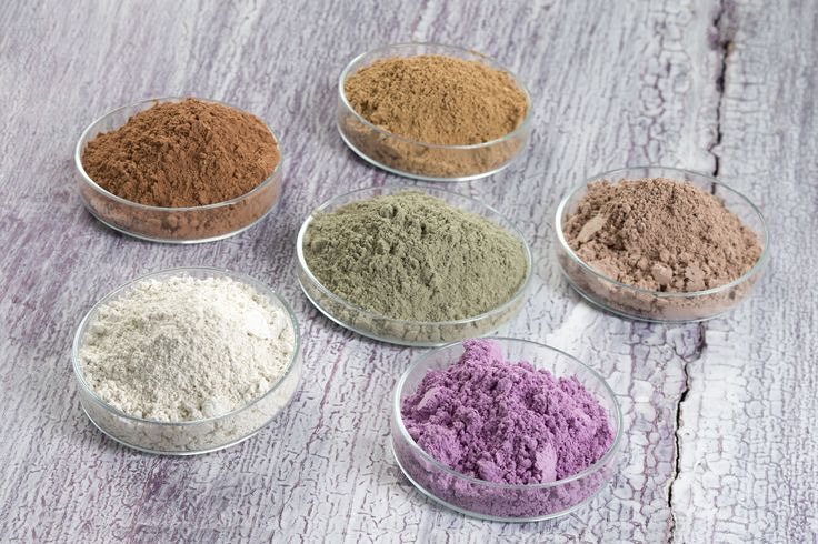 We offer a wide variety of clay powders for cosmetic and skincare use. #clay #claypowders #cosmetics #facialmask
