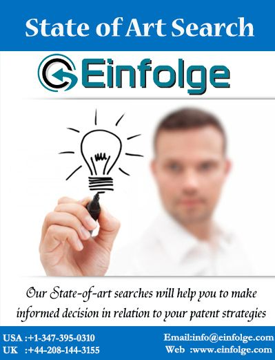 Our #State-of-art search will help you to make informed decision in relation to your #patent strategies