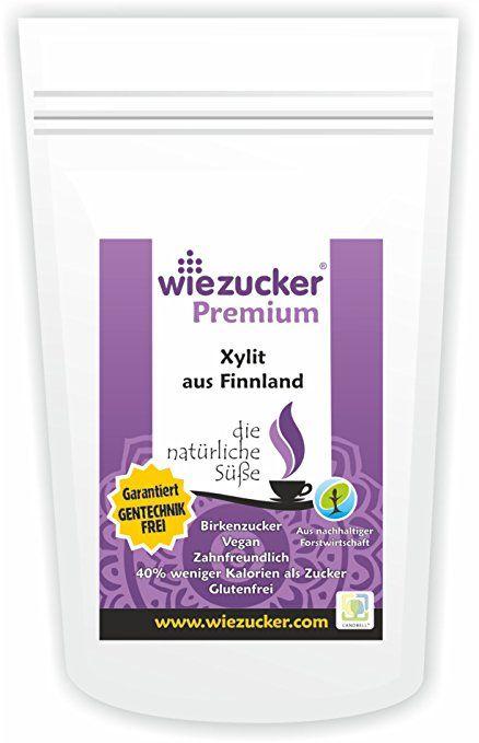 Wiezucker Premium Birkenzucker Xylit aus Finnland süß wie Zucker 2,5Kg