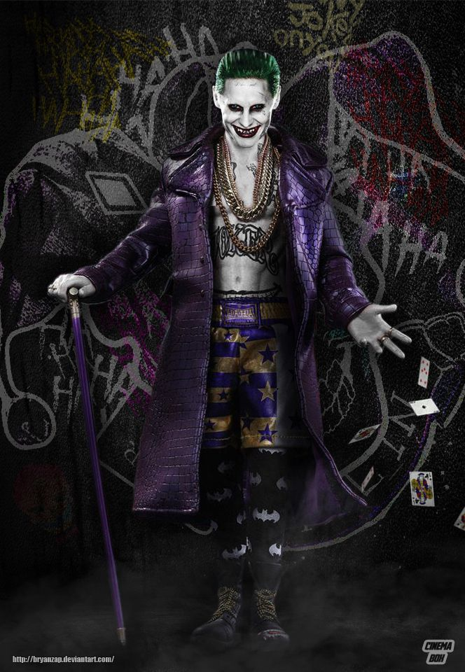 Suicide Squad Joker Purple Coat by Bryanzap