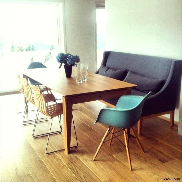 Dining Table With Sofa Seating Combined In