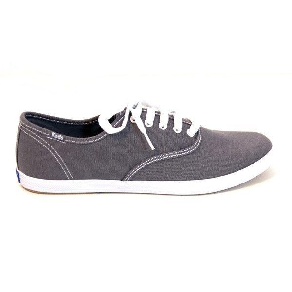 Keds Champion Mens - Graphite Slim Lace-Up Sneaker
