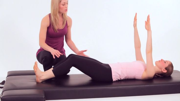 "How to Do a Roll Up in Pilates Learn how to do the roll up, a beginner Pilates Mat exercise, from Core Pilates NYC instructor Sarah Ruback in this Howcast workout video. with several trickes to get around if you are ""not a dancer."""