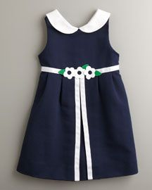 Nothing better than a Florence Eiseman dress for girls!!!