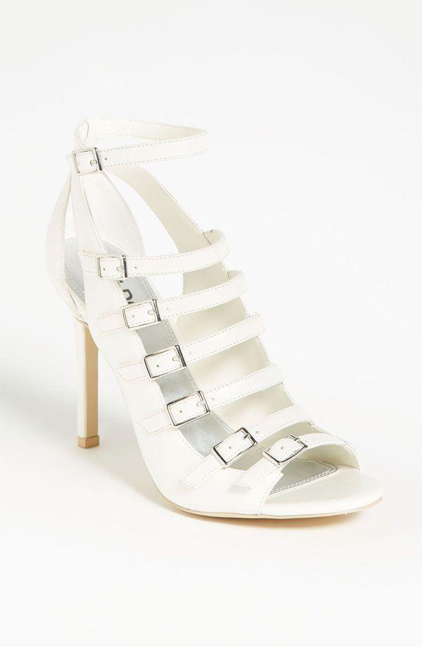 Tildon Strappy Janessa White Shoes
