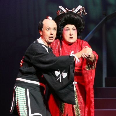 Simon Butteriss as Ko-Ko in The #Mikado at the Buxton Gilbert and Sullivan Festival