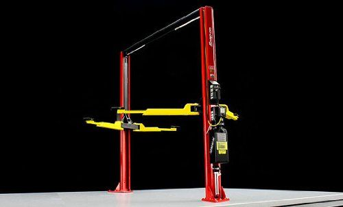 Snap On Garage Twin Post Lift For 1/18 Scale Diecast Model Cars by True Scale Miniatures 11SN01  #TruescaleMiniatures #Toy