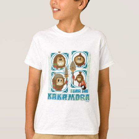 Moana | Fear The Kakamora T-Shirt - click/tap to personalize and buy