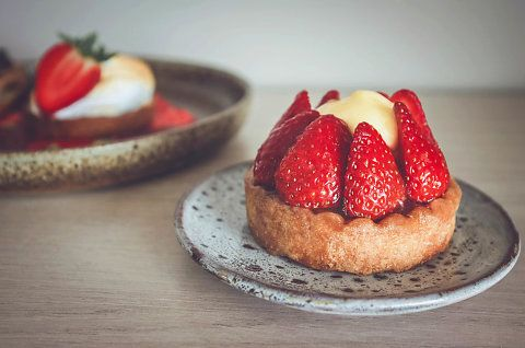 strawberry pie  #pâtisserie #photography #cheesecake #homemade #foodphotography #bakery #pastries  #france #strawberrypie #pie