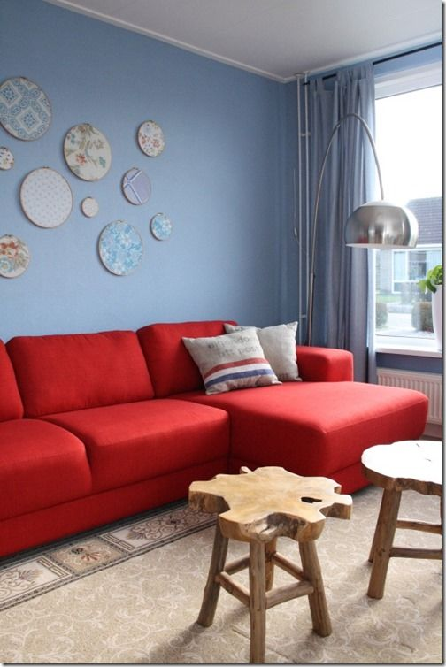 14 best red couch decorating ideas images on pinterest red couches red couch decorating and. Black Bedroom Furniture Sets. Home Design Ideas
