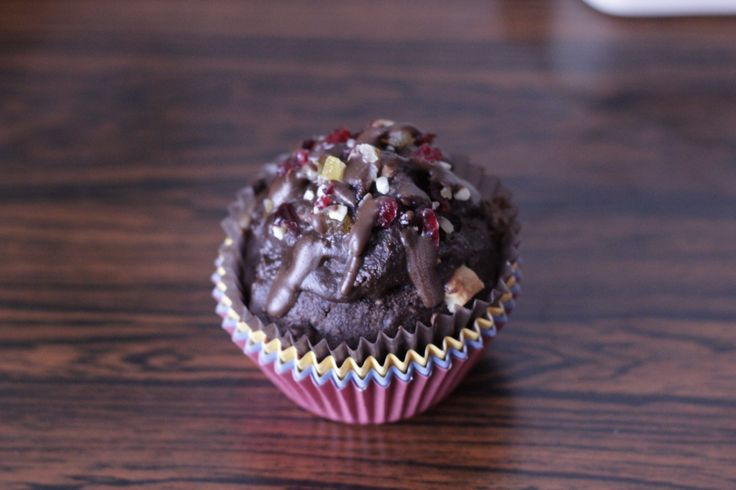 Chocolate buttermilk muffin