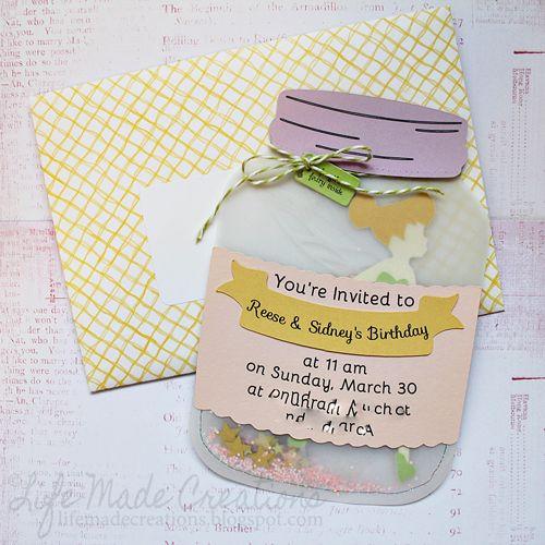 tinkerbell invitations