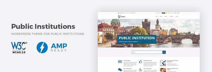 Municipality & city portal WordPress theme with WCAG compliance. #portal #WordPress #theme #city #WCAG https://djex.co/2oE3XiN