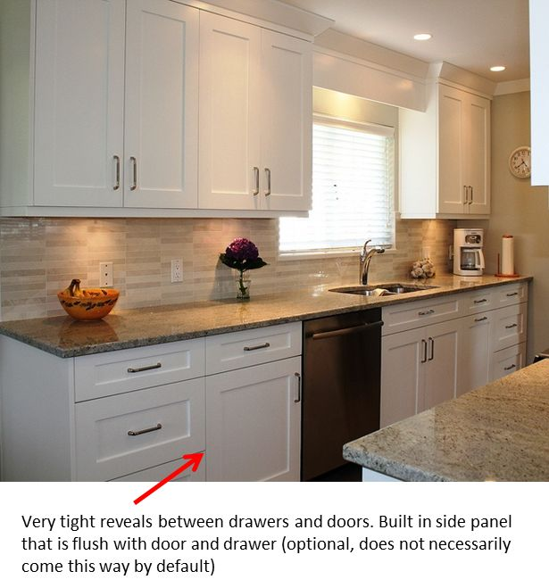 White Kitchen Cabinets Vs Dark: 22 Best Images About Cabinet Types On Pinterest