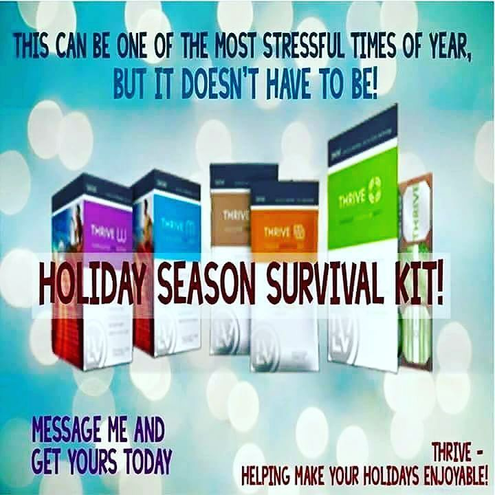 Thrive is not a diet but it can help you avoid that holiday weight gain! Get through the holidays with #AppetiteControl #Energy #BetterSleep #StressRelief and more! I can give 4 people a huge #Discount ! Message me today! #ThriveWithMe #Nutrition #Health #Wellness #Twitter