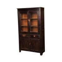 Vintage Trophy Cabinet for Game Room