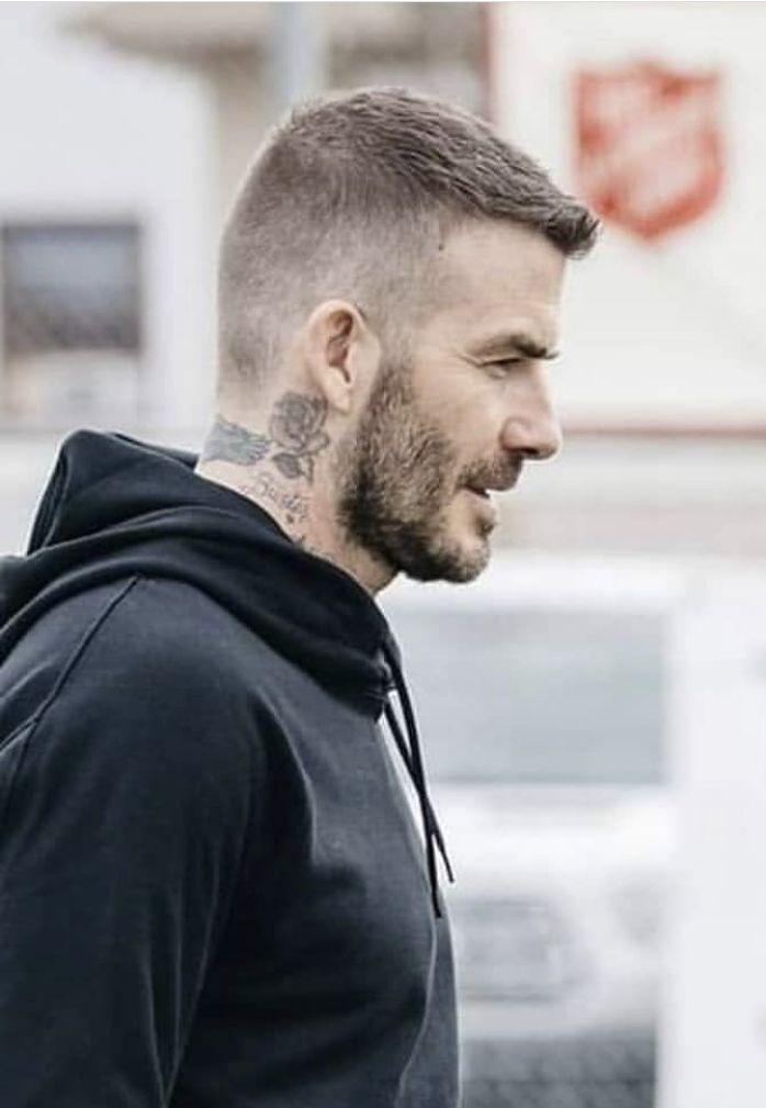 Pin By David Beckham On David Beckham David Beckham Hairstyle Beckham Haircut Business Men Haircut
