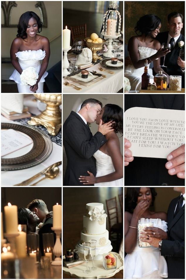 Ever wonder what a Scandal wedding would be like?! Love this styled shoot!