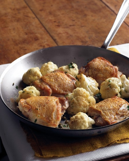 Chicken with Cauliflower and Parsley | Recipe