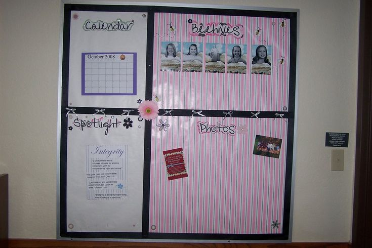 Relief society bulletin board ideas 2013 just b cause for Idea door relief society