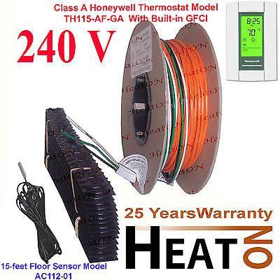 Other Flooring 20604: 70 - 90 Sq.Ft 240V Radiant Tile Underfloor Heating System, Kitchen, Bath -> BUY IT NOW ONLY: $221 on eBay!