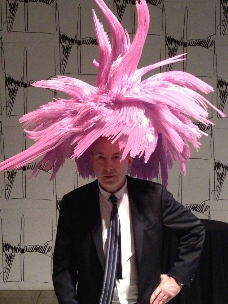 Murray Moss Andy Warhol Wig 3Dprinted