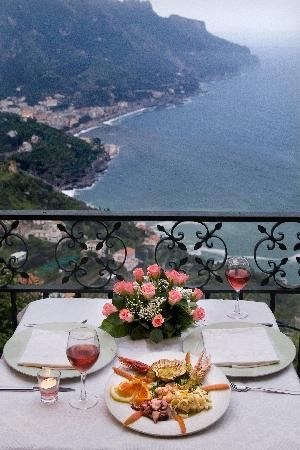 Dinner With A View - Ravello, Italy