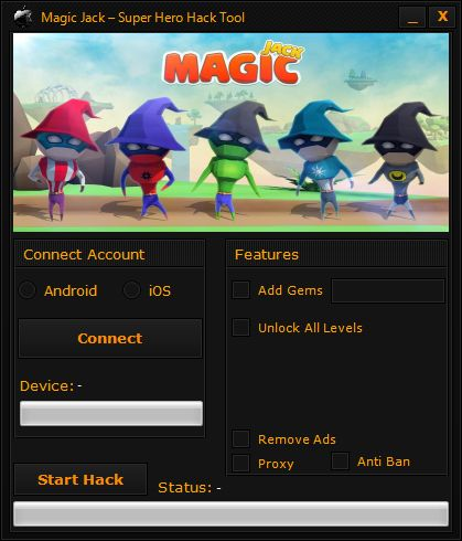 Magic Jack – Super Hero Hack Tool