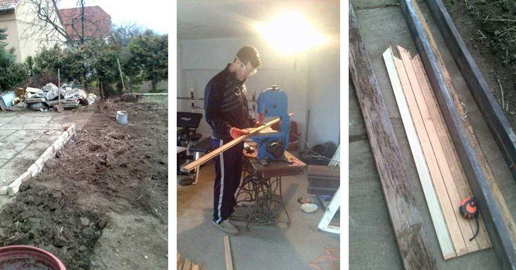 Használt redőny hulladékából csodaszép kerti kerítés - #24 DIY - Hulladekvadasz.hu