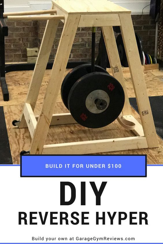 Diy reverse hyper machine for under diy home gym diy gym