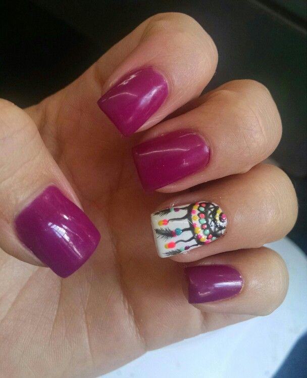 naildesing atrapasueños uñas nailart lacquerevolution NayheliEsquivel