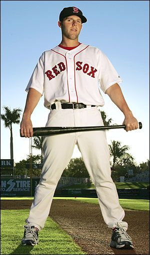 Dustin Pedroia. Second Baseman of the Boston Red Sox!