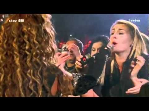 Beyonce Fan Sings with Accompaniment - YouTube