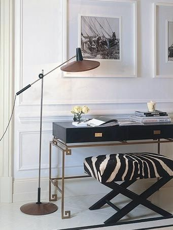 Classic contemporary wearing a black & white palette. Each element is outstanding in style and design.  Stunning.
