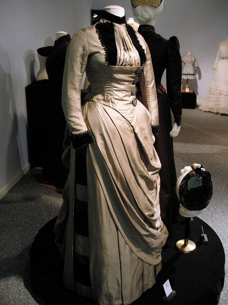 Adventures of a Costumer: Silk Faille Dress c1887-89