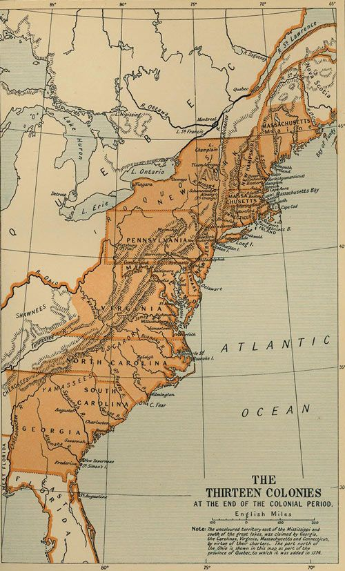 Best Images On Pinterest Black Powder Guns Mountain - Map of us colonies 1776