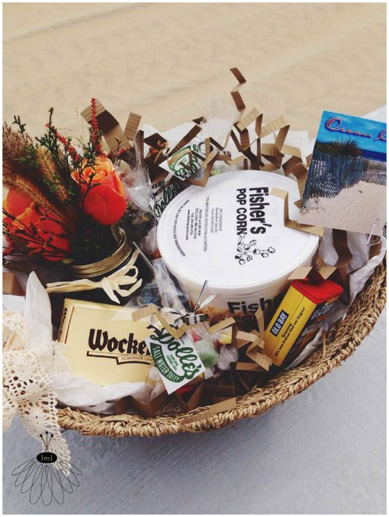 Pre Wedding Gift Basket For Bride : ... gift baskets for in their hotel rooms before arrival. wedding