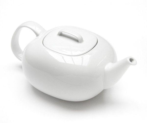 Moon teapot - This teapot is designed by Jasper Morrison for Rosenthal as part of the Moon range. - www.jaspermorrison.com/shop/moon-teapot.html