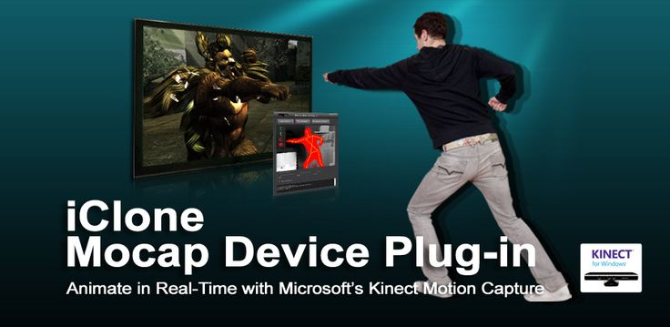 iClone Mocap Plug-in and Kinect Motion Capture