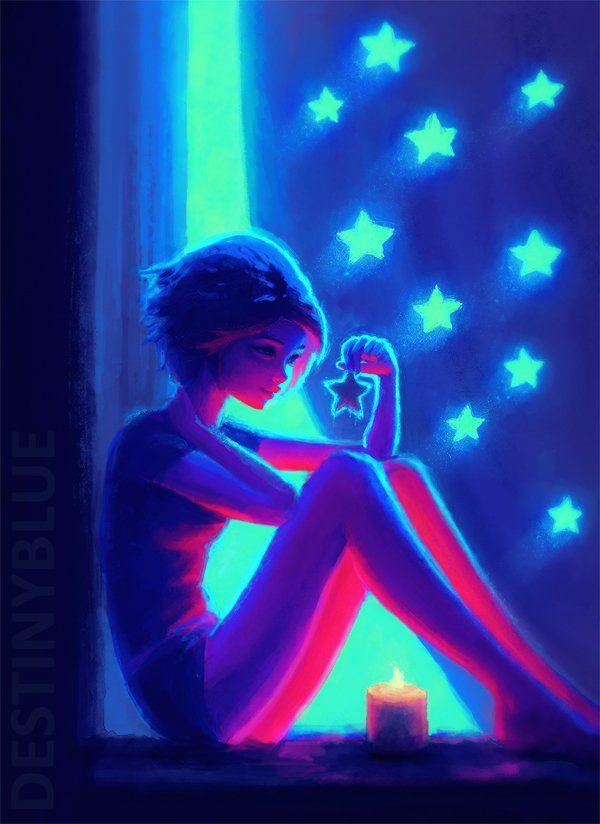night maker by destinyblue - Sweet Digital Art by DestinyBlue <3 <3