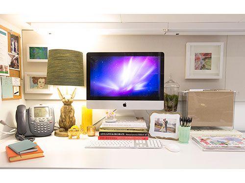 PBteen Emily + Meritt Brass Bunny Table Lamp sure looks cute on this desk!