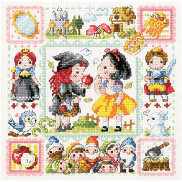 Sodastitch grille Snow White SO-3181 chez Univers Broderie